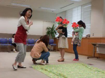 母の日企画!親子で参加できる英語とリンパケアのコラボレーションです。